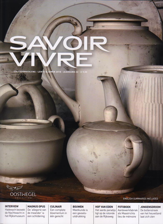 Savoir Vivre 2018 cover